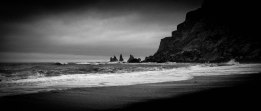black beach, Vik - iPhone