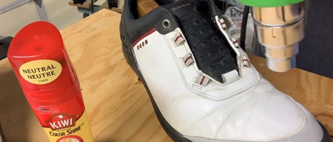 How To Clean ECCO Golf Shoes FI