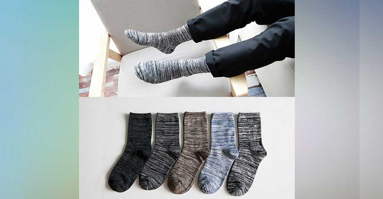 Wear Thick Socks