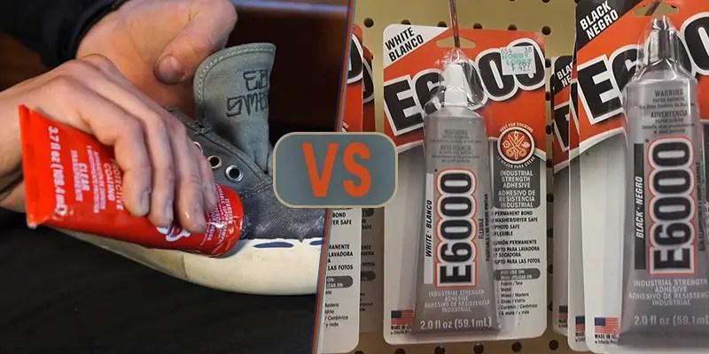 E6000 vs Shoe Goo FI