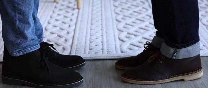Clarks Bushacre vs. Desert Boots FI