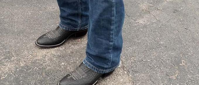 How to Break in Cowboy Boots FI