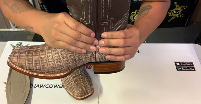 How to Shrink Cowboy Boots Fi