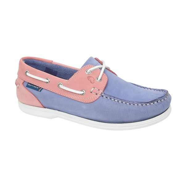 CAYMEN BLUEBELL-ROSE washable deck shoe