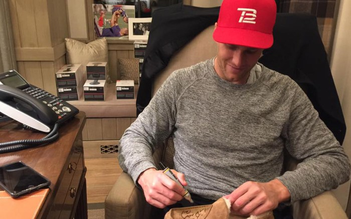 Tom Brady Signed Pairs of Uggs & Things Got Crazy – Footwear News