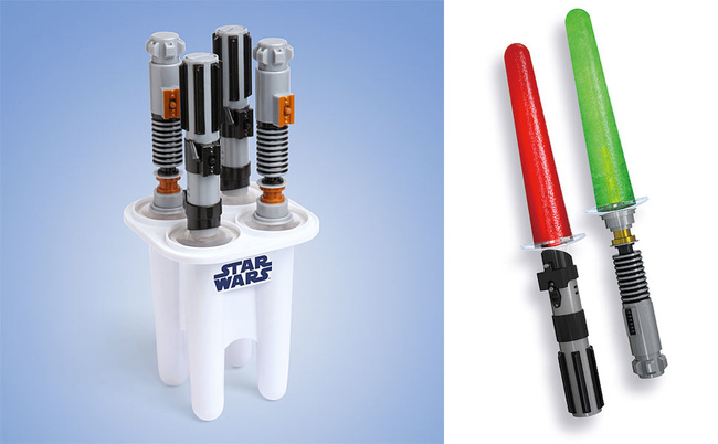 geeky kitchen gadgets grohe faucet cartridge replacement 22 you should definitely get fooyoh star wars lightsaber ice pop maker