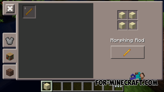 Morphing Mod For MCPE 0105