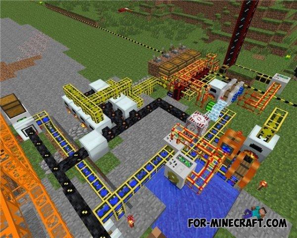 Industrial Craft 2 mod for Minecraft 1.7.10