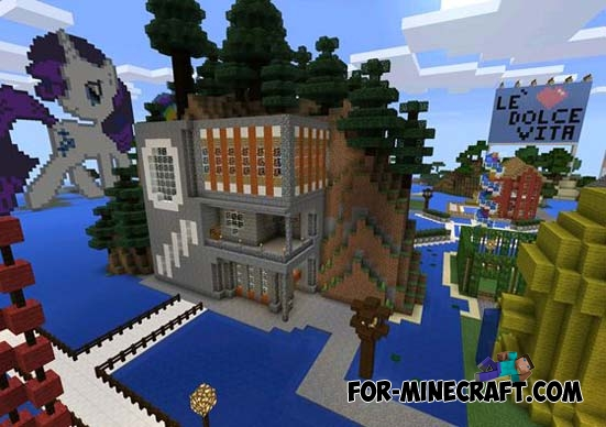 Village Ever Map For Minecraft PE 011X