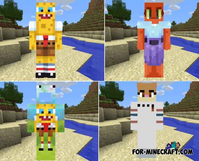 Edition Skins Pocket Minecraft Maker