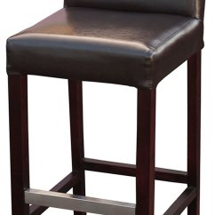 Stool Chair Second Hand Dental Accessories Secondhand Pub Equipment Bar Stools Brown Real Leather Mayfair