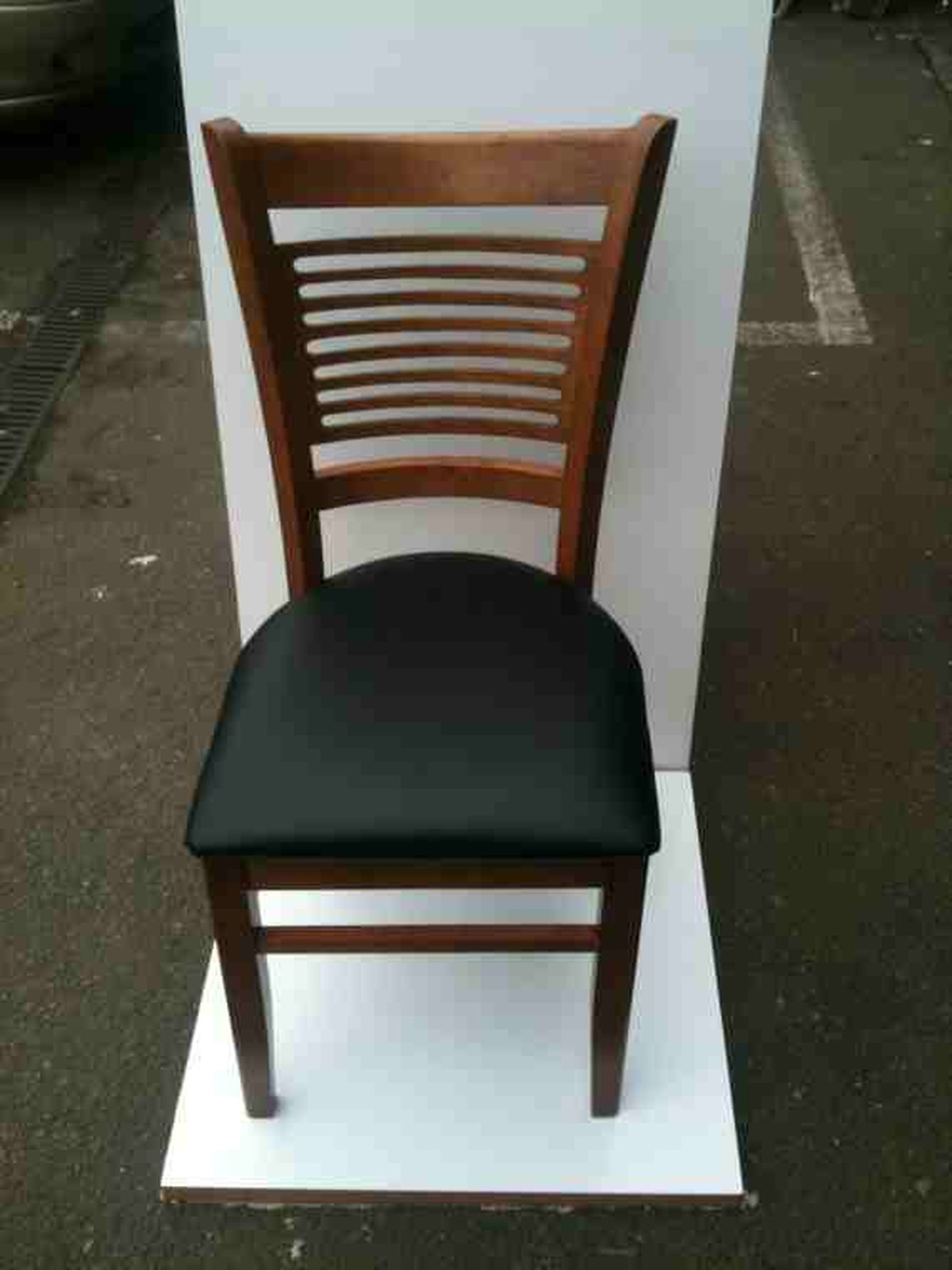 used oak table and chairs tub chair brown leather secondhand tables restaurant oxford