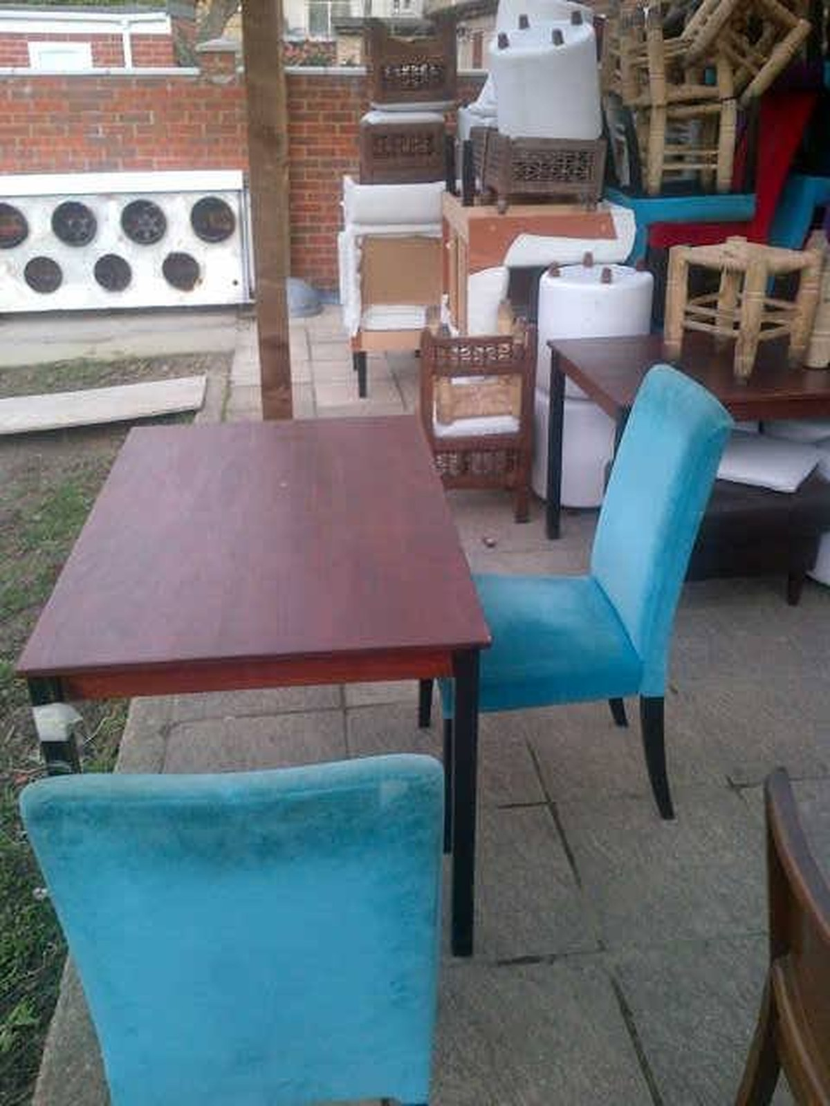 used table and chairs for restaurant use lower back support office chair secondhand tables