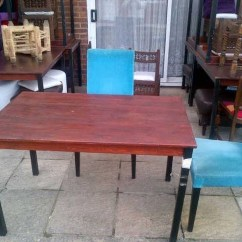 Used Table And Chairs For Restaurant Use Kitchen 6 Uk Secondhand Tables