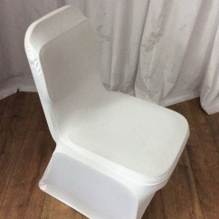 Used Lycra Chair Covers For Sale Folding Gumtree Secondhand Chairs And Tables White