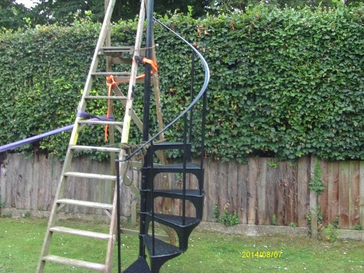 Secondhand Vintage And Reclaimed Miscellany Spiral Staircase Maidenhead Berkshire | Spiral Staircase For Sale