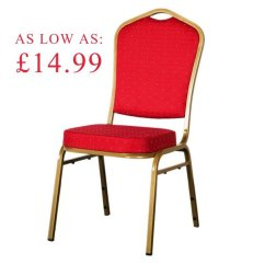 Red Chairs For Sale Lion Chair Antique Secondhand And Tables Banqueting Shield