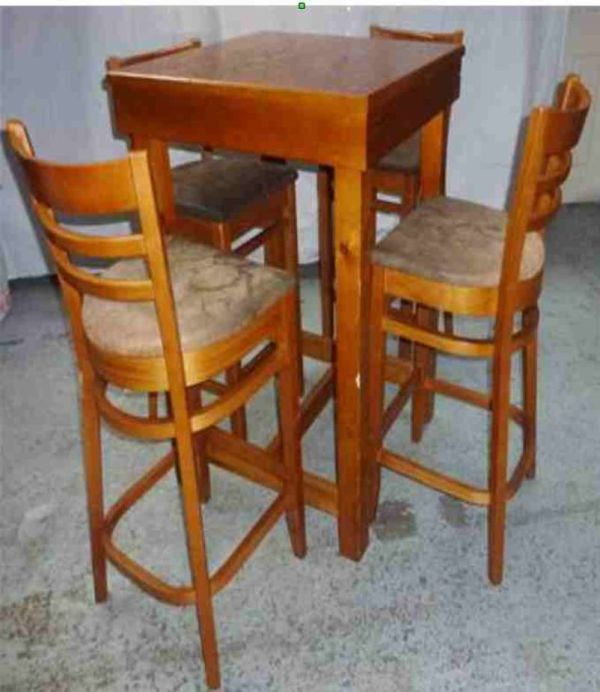 High Bar Tables and Chairs