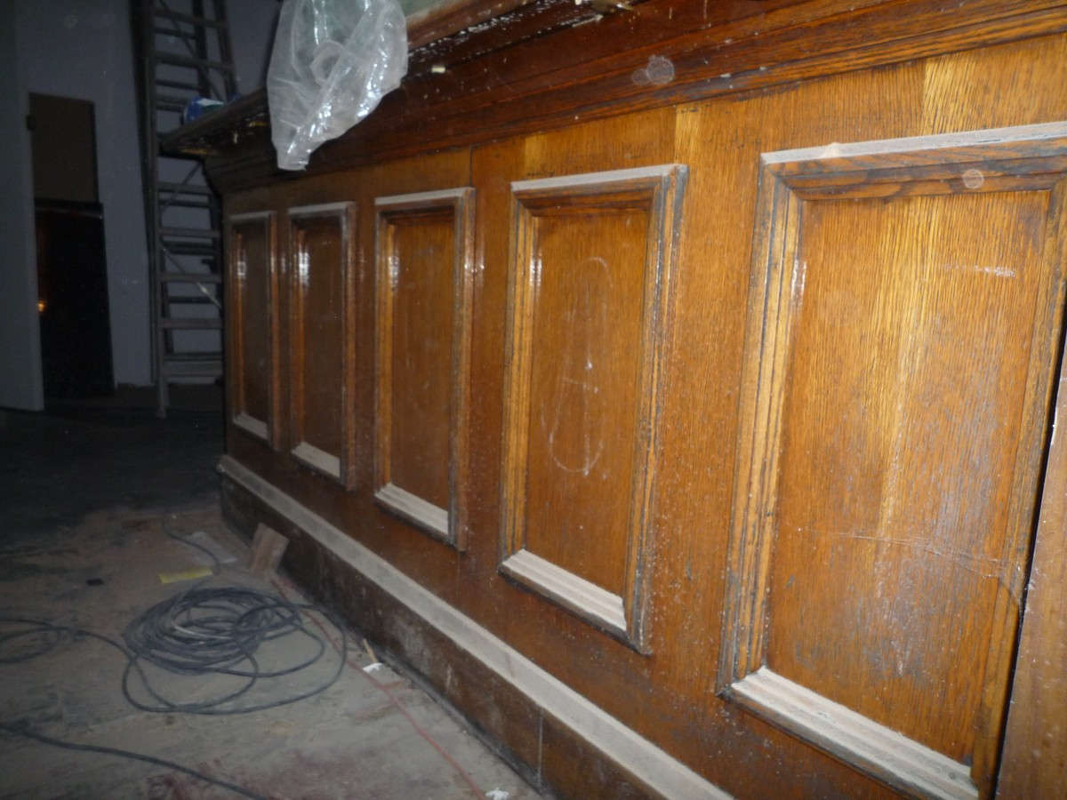Secondhand Vintage and Reclaimed  Bar and Pub  Solid Wood Pub Bar  London