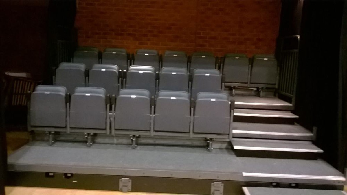Secondhand Chairs and Tables  Theatre and Cinema Chairs