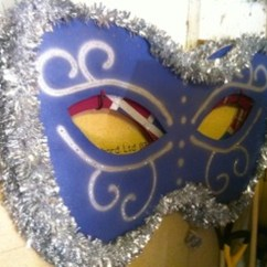 Ball Chairs Office With Arms Secondhand Prop Shop | Costume And Fancy Dress Giant Led Masquerade Mask - Surrey