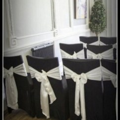 Black Chair Covers Uk Rental Brooklyn Ny Secondhand Catering Equipment Table Linen And Decor