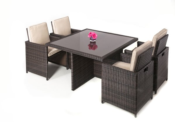 Rattan Cube Garden Furniture Bq