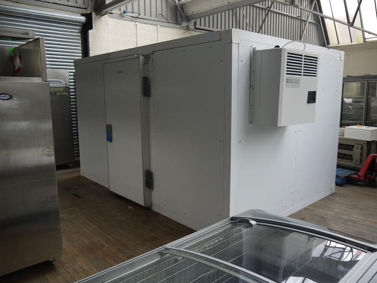 Secondhand Catering Equipment  Walk in Fridges and Freezers  De Rigo Refrigeration Cold Room