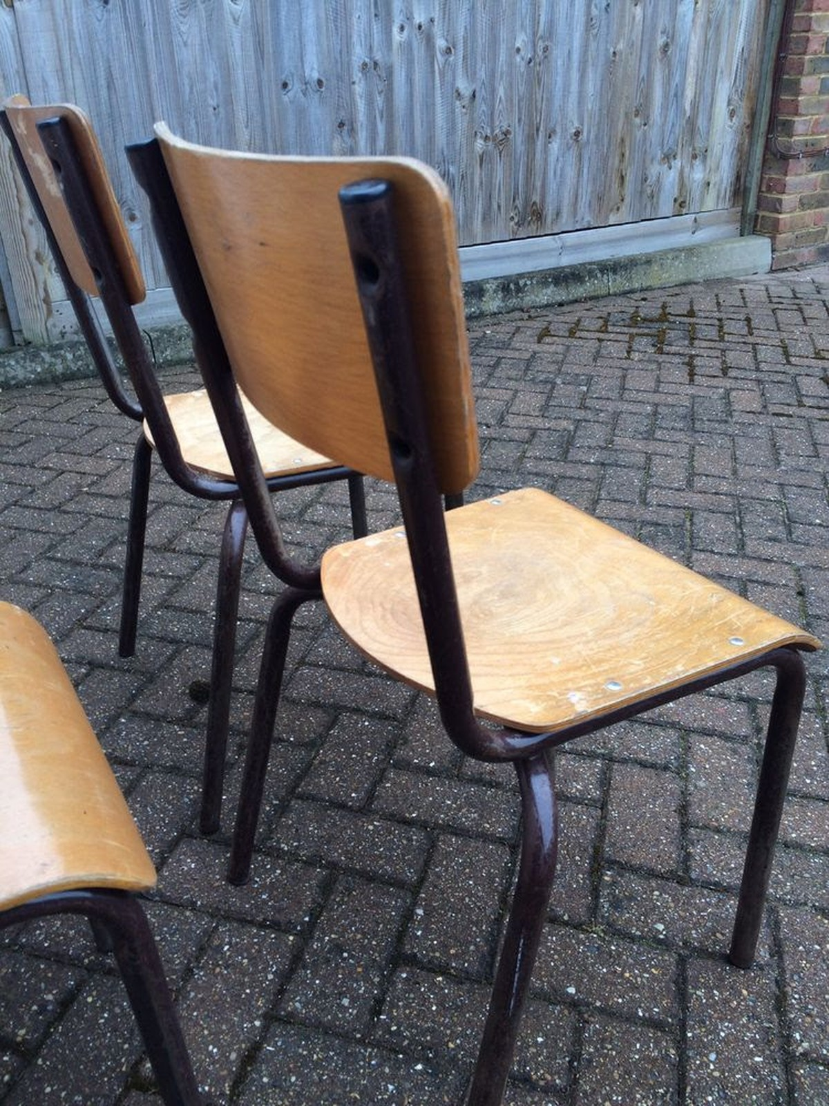 Wooden School Chairs Secondhand Chairs And Tables Retro Vintage Or Antique