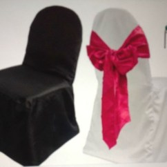 Chair Covers And Sashes For Sale Black White Barber Secondhand Catering Equipment Table Linen Decor