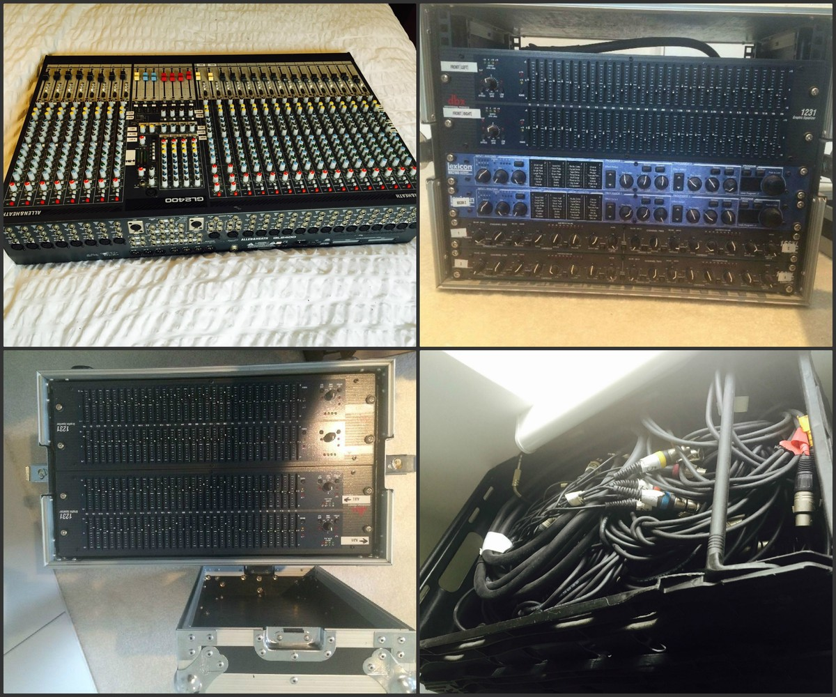 pa system mixing desk