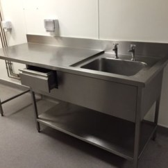 Used Kitchen Sinks For Sale Natural Cherry Cabinets Commercial Stainless Steel 28