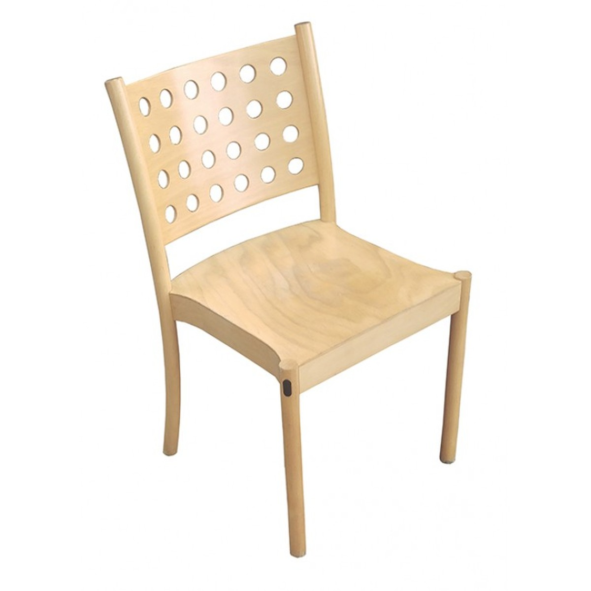 wood frame chair with lumbar support for office secondhand chairs and tables stacking 20x solid