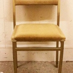 Steel Chair Gold Fabric For Dining Chairs Secondhand And Tables Stacking 150x Used
