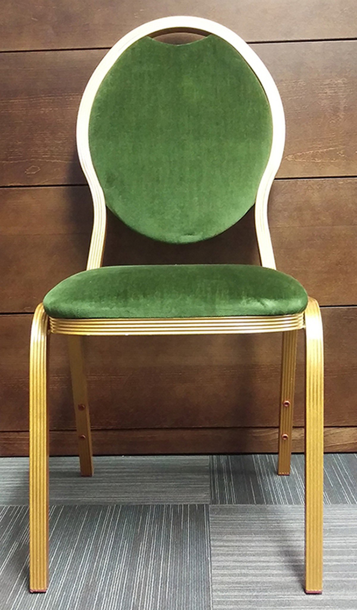dark green recliner chair convertible ottoman secondhand vintage and reclaimed mayfair furniture