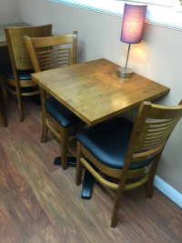 Secondhand Chairs and Tables | Restaurant or Cafe Tables