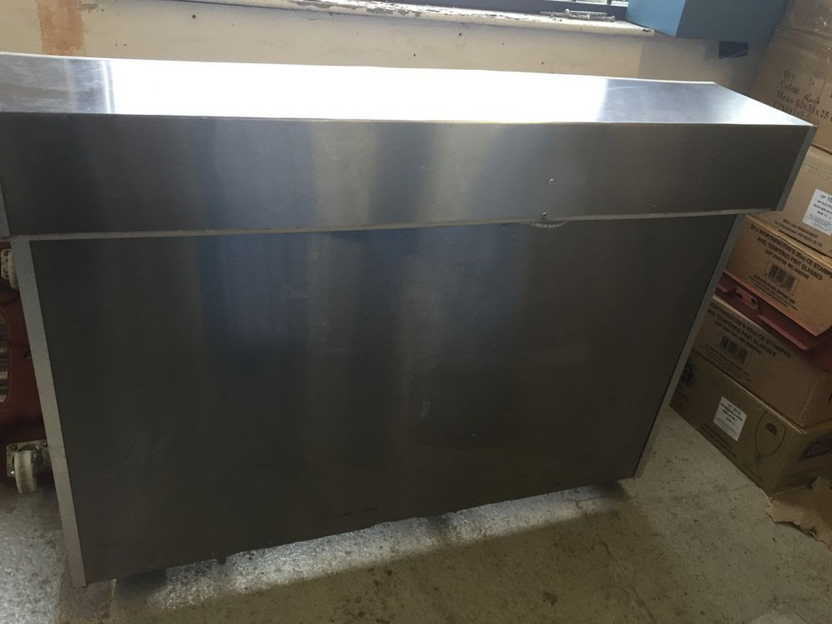 Secondhand Chairs And Tables Bar Units 2x Stainless