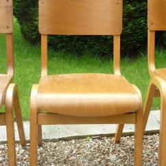 Wooden School Chairs Board Game Secondhand Vintage And Reclaimed Furniture
