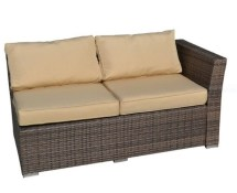 Weather Wicker Loveseat. Secondhand Chairs And Tables
