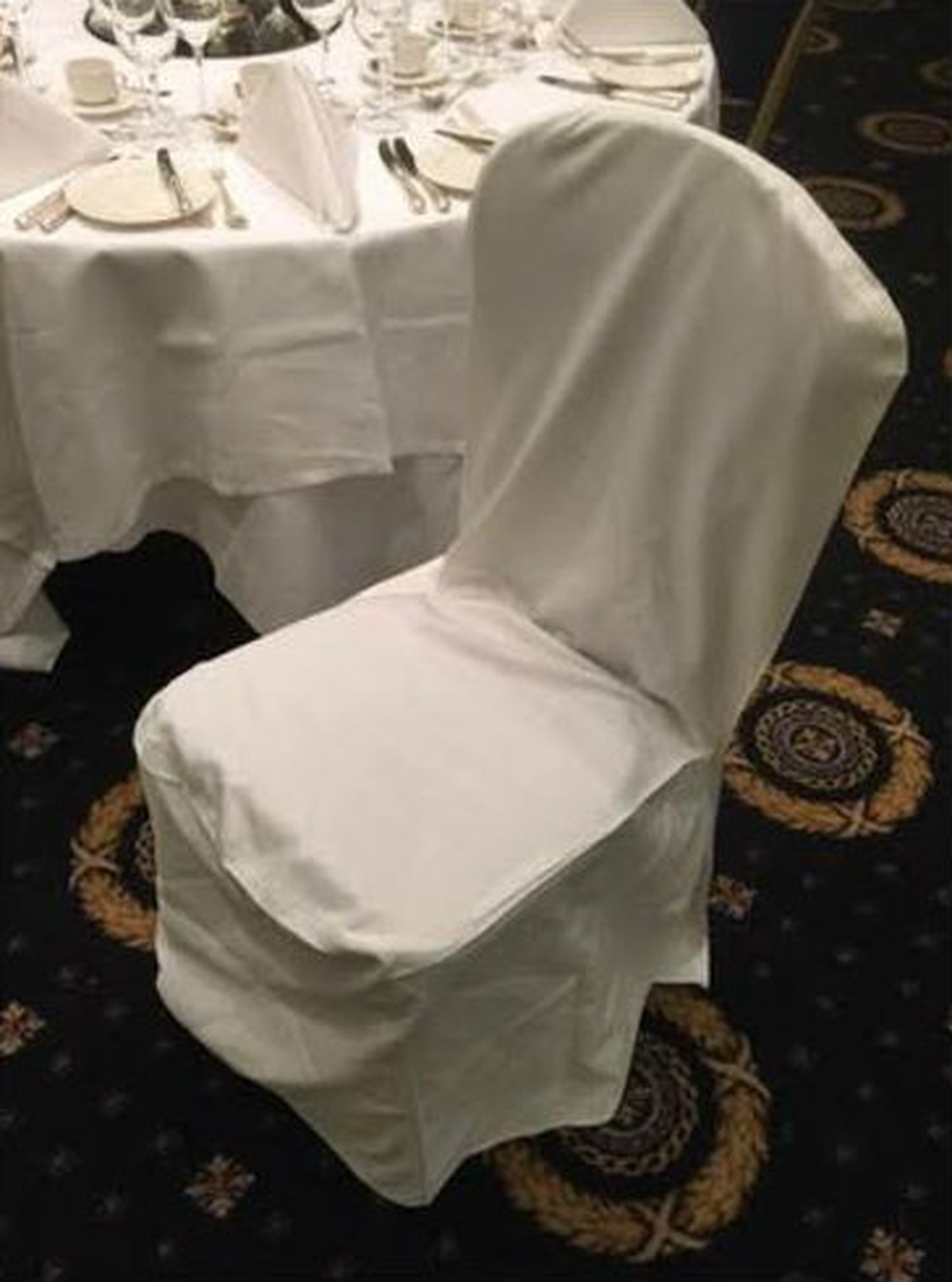 wedding chair covers chelmsford extra large bean bag chairs secondhand catering equipment table linen and decor