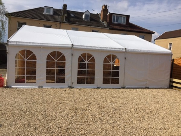 used wedding chair covers for sale uk chicco 360 high curlew secondhand marquees the best place to buy or sell second 6m clear span