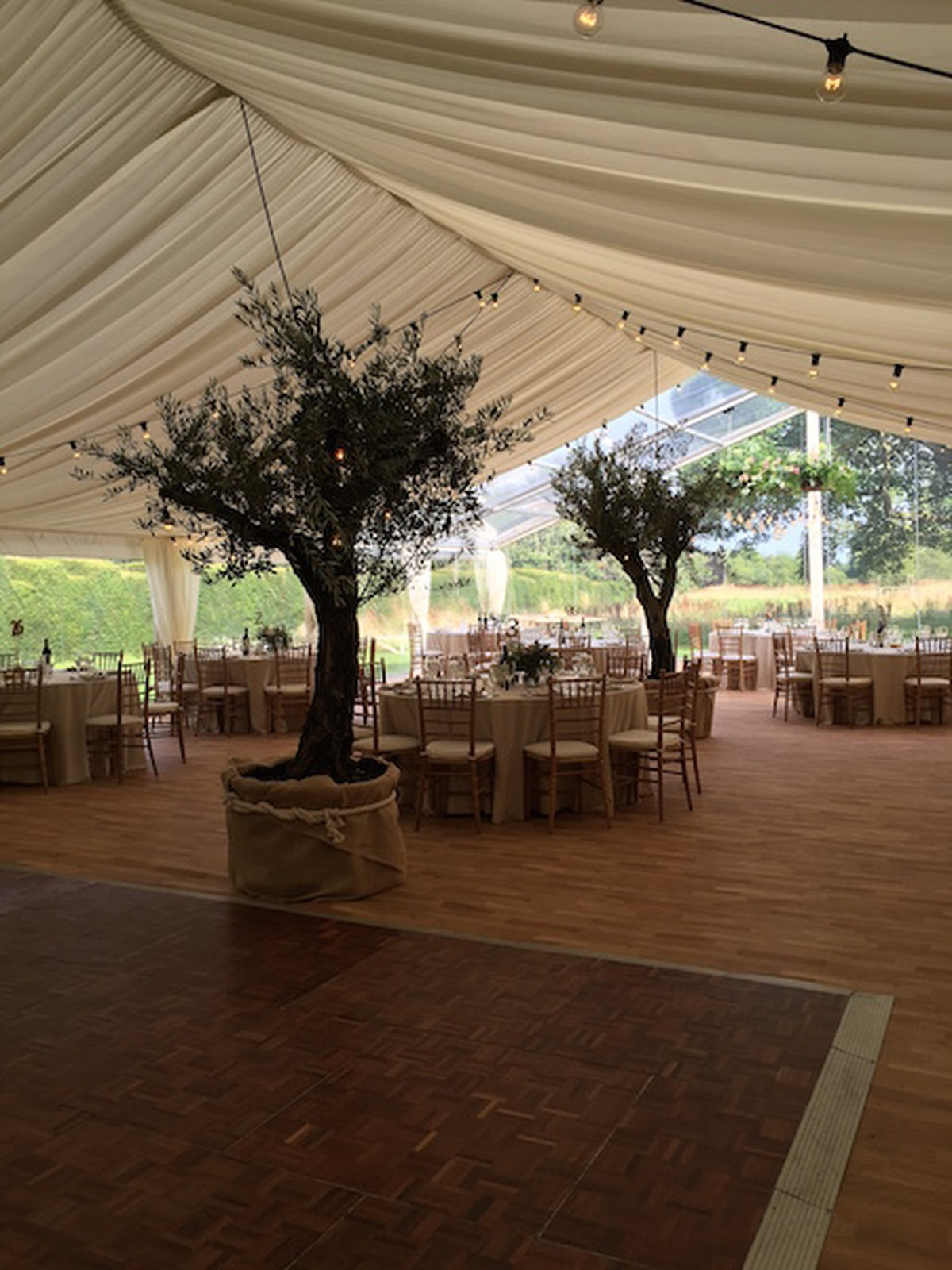 wedding chair covers newcastle upon tyne side chairs with casters curlew secondhand marquees dance floor parquet