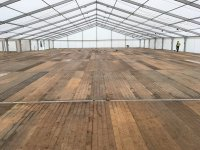 Curlew - SecondHand Marquees | Plywood or Board Flooring