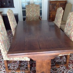 Used Oak Table And Chairs High Chair For Island Kitchen Secondhand Vintage Reclaimed 30 39s Quality