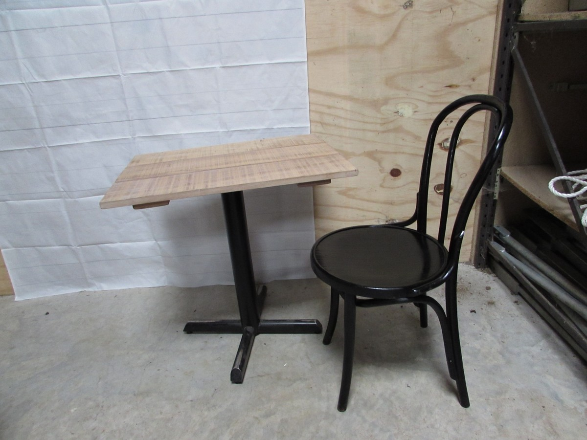 bentwood bistro chairs for sale chair covers and bows secondhand tables | cafe or 46x black - somerset