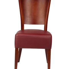 Leather Chairs Of Bath London Dining Room With Casters Faux Restaurant