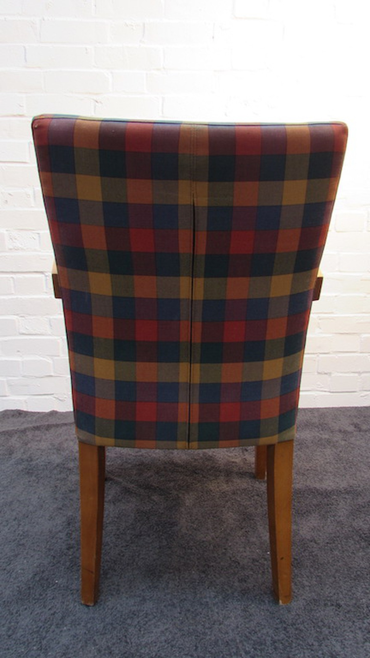tartan dining chair covers for sale how to replace cane back with fabric secondhand catering equipment ser furniture ltd sussex