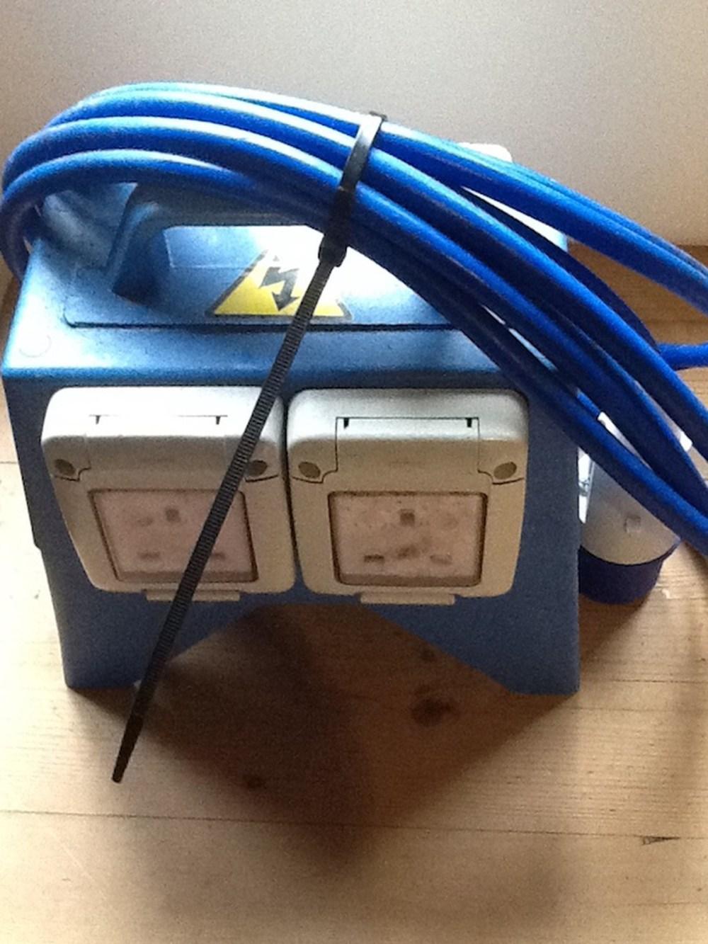 medium resolution of 240v 16amp outdoor ip rated splitter box