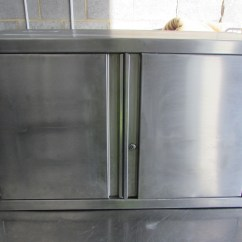 Stainless Steel Kitchen Cabinets For Sale Painted Chairs Secondhand Catering Equipment Cupboards And