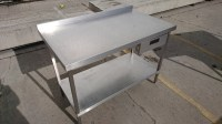 Secondhand Catering Equipment | Stainless steel tables (1 ...